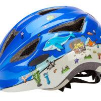 Abus Anuky - Børnecykelhjelm - Blå dykker - Str. 52-57