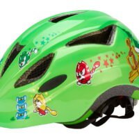 Abus Anuky - Børnecykelhjelm - Grøn katapult - Str. 52-57cm