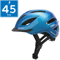 Abus Pedelec 1.1 Hjelm m. LED lys - Steel Blue