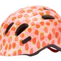 Abus Smiley 2.1 - Børnecykelhjelm - Rosa jordbær - Str. 45-50cm