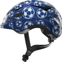 Cykelhjelm Abus Anuky - Blue Soccer