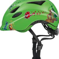 Cykelhjelm Abus Anuky - Green Catapult