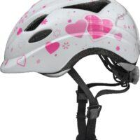 Cykelhjelm Abus Anuky - White Heart