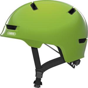 Cykelhjelm Abus Scraper Kid 3.0 - Shiny Green