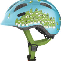Cykelhjelm Abus Smiley 2.0 - Blue Croco