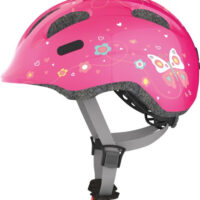 Cykelhjelm Abus Smiley 2.0 - Pink Butterfly
