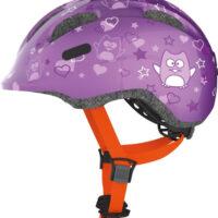 Cykelhjelm Abus Smiley 2.0 - Purple Star