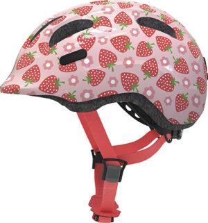 Cykelhjelm Abus Smiley 2.1 - Rose Strawberry