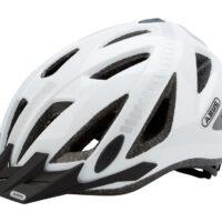 Cykelhjelm Abus Urban-I Signal 2.0 hvid 56-62 cm