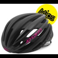 Giro Ember Mips cykelhjelm, Mat sort/lys pink