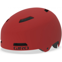 Giro Quarter FS cykelhjelm Mat mørkerød