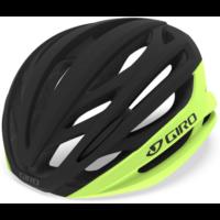 Giro Syntax cykelhjelm, mat gul/sort