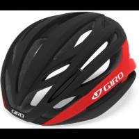 Giro Syntax cykelhjelm, mat sort/rød