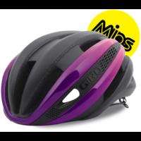 Giro Synthe Mips cykelhjelm, mat sort/lys pink