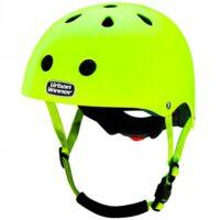 Gul cykelhjelm med magnetlås, UrbanWinner Neon Yellow