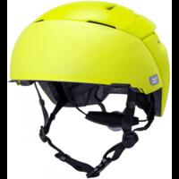 KALI City cykelhjelm med visir, mat gul