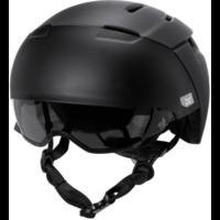 KALI City cykelhjelm med visir, sort