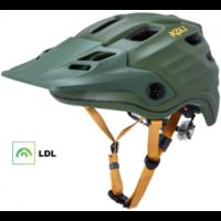 KALI Maya 2.0 cykelhjelm med LDL, mat grøn