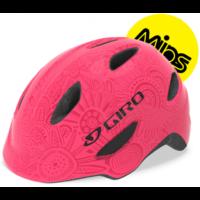Lys/pink pearl Giro Scamp MIPS børnehjelm