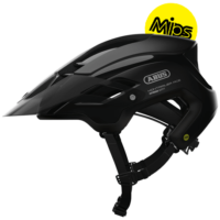 MonTrailer ACE MIPS velvet black cykelhjelm fra Abus