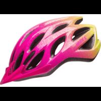 Pink/gul Charger Junior hjelm fra Bell