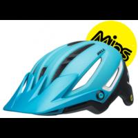 Sixer Mips cykelhjelm fra Bell, lys blå/sort