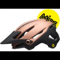 Sixer Mips cykelhjelm fra Bell, mat kobber/sort