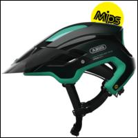Smaragd Green Montrailer ACE Mips cykelhjelm fra Abus
