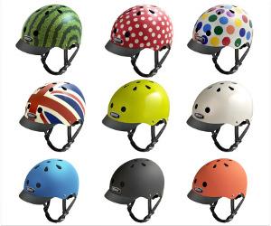Mange forskellige Nutcase Cykelhjelme både til børn og voksne